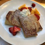 sweet cheese crepes