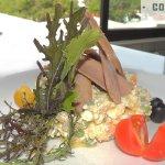 Ensaladilla de papas negras y ventresca de atún de las Sugerencias del Chef