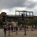 Coors Field, just a few blocks from the Oxford.