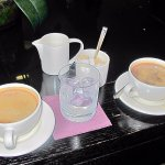 Coffees and liquors after our bar meals