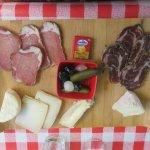 planche fromage de la region et charcuterie corse