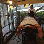 il famoso DIEGO operante al tavolo
