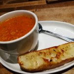 Feature Soup + Grallic Bread $7.25