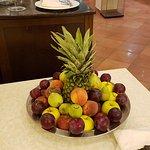 Angolo della frutta mista di stagione.