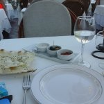 Lavas, ezme, olives and cacik
