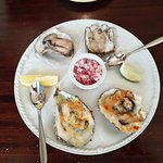 Yummy local oysters