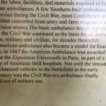 American ambulance was award winning- Pry House Field Hospital Museum
