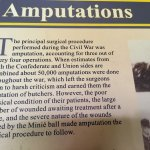 Major surgical interventions of civil war - Pry House Field Hospital Museum