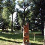 Interesting Ground Sculpture