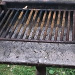 For $80 a night, I at least expect a clean grill
