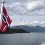 Passeio de barcos no fjorde