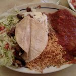 Taco and Chile Relleno combonation