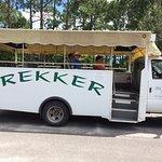 Vehicle for Trekker tour of plantations