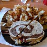 Pastrami on Rye Bread