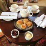 cream tea on arrival