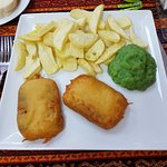 Tofish and chips - bringing vegans in from miles around!