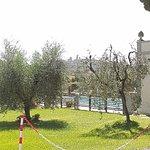 Vista della Collina di San Gimignano dalla zona del parcheggio