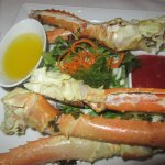 King Crab Legs, Bistro Napa, Atlantis, Reno, Nevada
