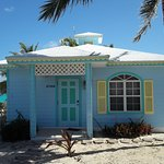 Front of Musha Cay cottage