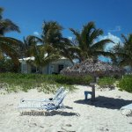 Musha Cay cottage and the 4 bedroom cottage to the right