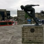 This is Freddie Truman at the junction of three canals in Skipton