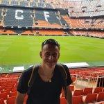 tribuna e distinti ultras Valencia