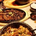 Bibimbap and Beef Galbi
