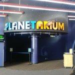 Planetarium exhibit
