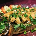 Pla Kra Tiem (Flounder Garlic)