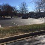parking lot of Hampton Inn Greenwood