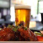 Beer and wings, it's a match made in heaven!