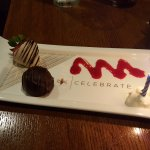 Complimentary Welcome Dessert