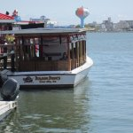 Lunch at Sneaky Pete's- dining on boats on the water- this is a must!
