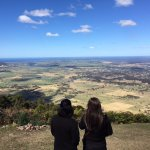 The view from Cambewarra Mountain Lookout