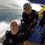 Dave and Ashley Thomas / Dive Master Orlando an Capt Luis from Scuba Du