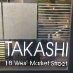 Takashi restaurant