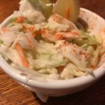 Mackinac Island Village Inn Coleslaw incredibly good!