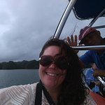 Holà Pablo! Such an outstanding boat captain. On our way to Los Haitises