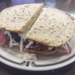 No 1. Pastrami with cole slaw and Russian dressing