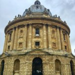 """One of my favorite buildings in Oxford was Radcliffe Camera (Camera meaning """"room"""" in Latin.)"""