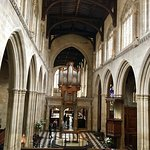 Our Oxford tour took us inside St Mary's Church of England. Impressive.