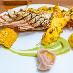 Charcoaled Reef Lobster