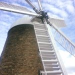 this is an amazing sight, she is a lovely fat windmill, special in every way