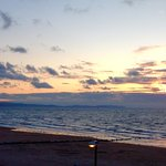 Wonderful sunsets.