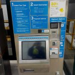 Ticket machine at Ferry Dock at South Perth