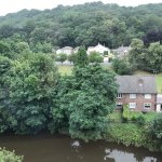 View of Shipley Glen and the River Aire