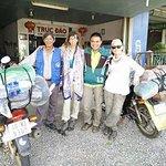 En nuestro viaje, con Ho Duc y Gon Nguyen
