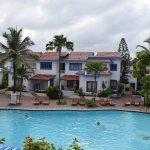 Pool side villas