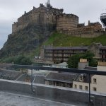 View of Edinburgh Castle From room a Apex Grassmarket