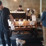 The interior of Bonanza Coffee Heroes.
